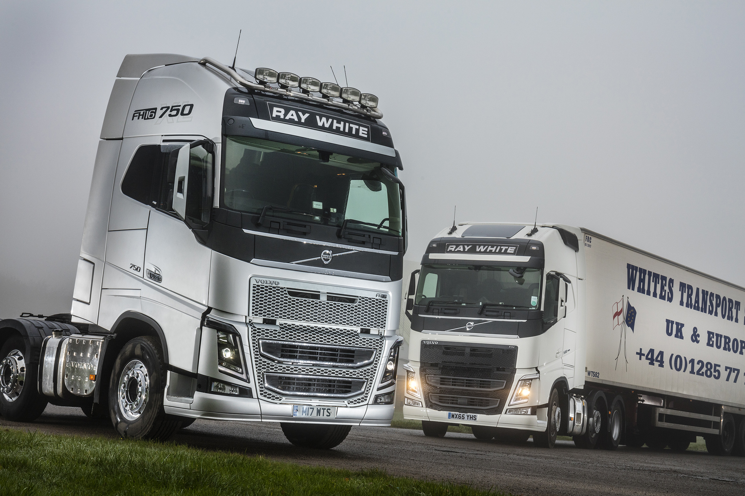 Whites Transport puts five new Volvo tractors on the road ...