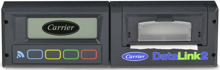 Carrier Transicold's new DataLink 2 recorder provides an independent temperature verification method for transport refrigeration and includes an integral thermal printer
